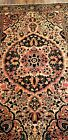 1890  ESTATE  FIND    VERY FINE RUG EXCELLENT FOR COLLECTORS  GREAT COLORS & G