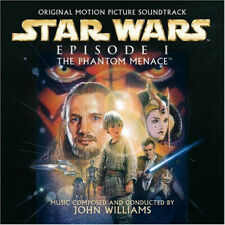 NEW Original CD Star Wars - Episode I: The Phantom Menace by John Williams