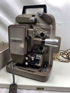 Vintage Bell & Howell Autoload Design 266 EX 8mm Cine Film Projector WORKING