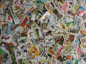 Horses topical stamps. Collection of 300 different plus 8 souvenir sheets