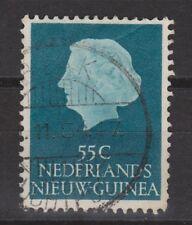 Indonesia Nederlands Nieuw New Guinea 34 TOP CANCEL BIAK 1954 Juliana