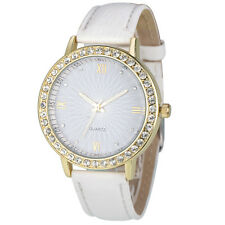 Luxury Women Watches Diamond Leather Band Analog Quartz Dress Wrist Watch Lady