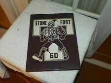 1960 STEPHEN F AUSTIN UNIVERSITY SFA Nacogdoches TX Yearbook Annual Stone Fort