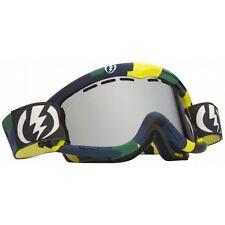 New Electric EG1 Snowboard Ski Goggles Disorganize Bronze Gold Chrome Plus Bonus