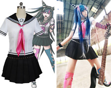 Danganronpa Dangan Ronpa Ibuki Mioda Cosplay Costume School Uniform Outfit Dress