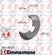 2x ZIMMERMANN Bremstrommel Trommeln Trommelbremse COAT Z Hinten 250.1775.20 Ford