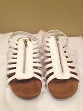 A2 Sandal Shoes Solid New white  Size 11M