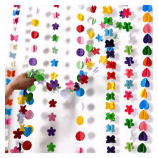 Garland Bunting Banner Party Birthday Decoration Lots of Choices UK Seller