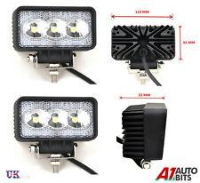 2X 9W 10-30V 3 LED de luces de trabajo de las lámparas de luz de inundación John Deere Valtra Tractor Fendt