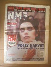 NME NEW MUSICAL EXPRESS 28 JAN 1995 POLLY HARVEY LEFTFIELD HUMAN LEAGUE WEEZER