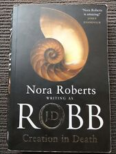 1 BOOK, NORA ROBERTS WRITING AS J D ROBB CREATION IN DEATH