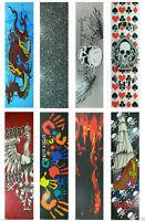 "Graphic Skateboard Deck Grip Tape Multiple Design 33"" x 9"""