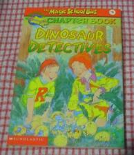 Magic School Bus Chapter Book #9 - Dinosaur Detectives LOCAL FREEPOST ch sc 0514