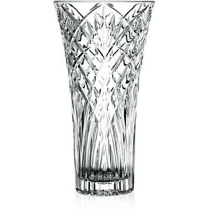 RCR Melodia 30cm Crystal Glass Clear Home Table Decorative Ornament Flower Vase