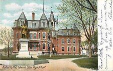 1907 Edward Little High School, Auburn, Maine Postcard