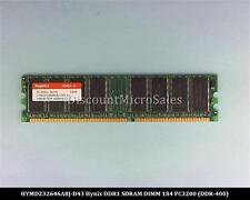 Hynix HYMD232646A8J-D43 DDR 256MB PC-3200 Non ECC 400Mhz RAM Memory