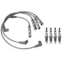 For 2001-2006 VW Golf Jetta Beetle 4cyl Prenco Ignition Wire Set w/ Spark Plug