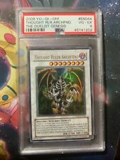 2008 YU-GI-Oh! the Duelist Genesis EN044 Thought Ruler Archfiend PSA 4 VG-EX