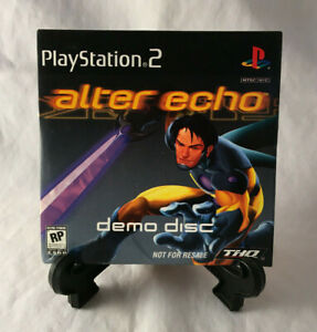 Alter Echo Demo Disc (Sony Playstation 2 PS2) Tested