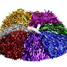 Cheerleader Pom Poms Waver Fancy Dress Costume Pompoms Dance Hen Party Decor
