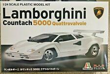 1/24 Lamborghini COUNTACH 5000 Quattrovalvole - Italeri  / Platz