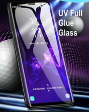 Liquid UV Full Tempered Glass Screen Protector For Samsung S20+ S8 S9 S10 Note 9