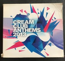 CREAM CLUB ANTHEMS 2013 3-Disc CD Compilation Album Dance House Electronica Mix