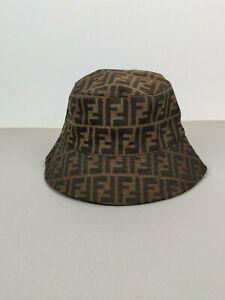 Amazing Fendi Monogram Panama Bucket Hat Unisex One Size