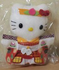 New Rare Hello Kitty Momotaro Okayama Plush Doll Toy Sanrio Japan Gotochi Cute