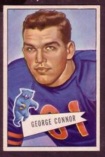 1952 BOWMAN LARGE GEORGE CONNOR CARD NO:19 NEAR MINT CONDITION