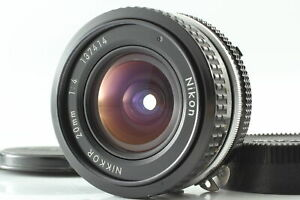 [Near MINT] Nikon Ai Nikkor 20mm f/4  Wide Angle MF Prime Lens From JAPAN