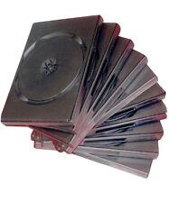 10 pack of Blu-ray Cases DVD CD Blank Empty Black Plastic