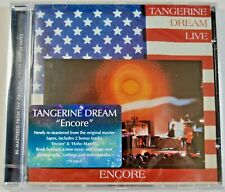 Tangerine Dream - Encore Live (Remastered 2019 + 2 Bonus Tracks) NEW CD (sealed)