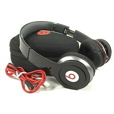 Beats by Dr. Dre Solo HD on-ear headphones (wired) Black & Red + Case