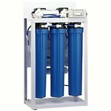 RO Reverse Osmosis Water Filtration System 400 GPD - Auto Flush - Booster Pump