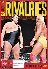 WWE -  The Top 25 Rivalries In WWE History (DVD, 2013, 3-Disc Set) - Region 4