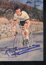 BERNARD BOURREAU cyclisme cp cycling Signed PEUGEOT 77