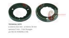 Grinding Burrs (pair) 63.5 DX Zanussi / Necta Vending c700, part - 1251198