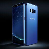 Custodia Protettiva Telefono Cellulare per Samsung Galaxy S7 Trasparente Blu