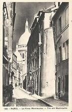 Paris, Le Vieux Montmartre, The old Montmartre, alte Ansichtskarte um 1925