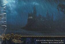 Harry Potter Prisoner of Azkaban Update 4 Card Gold Foil Promo Set
