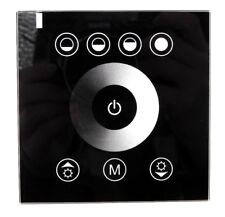 Black, Glass Led Touch Controller for Rvs, Trailers,and Campers Light Fixtures