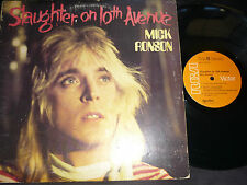 LP      MICK RONSON / SLAUGHTER ON 10TH AVENUE / david bowie
