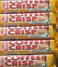 5 Coffee Crisp Chocolate Candy Bar Nestle Canadian FRESH FROM CANADA