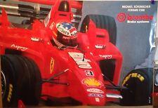 Ferrari F300 Brembo Brake Systems M. Schumacher Car Poster Very Rare! Own It!!