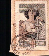 ERINNOFILI CHIUDILETTERA 1912 AUSONIA VINCIT   21-202