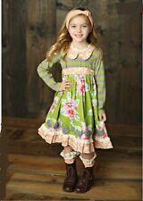 NWT Girl Mustard Pie Jeweled Forest Bernedette Dress Girls sz 4T