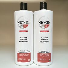 Nioxin System 4 CLEANSER (Shampoo) - SET OF 2 - 33.8 oz - NEW!!!
