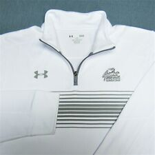 UNDER ARMOUR POLY 1/4 ZIP GOLF PULLOVER--L-GRAPHIC EDGE--LOOKS UNWORN!!--PERFECT