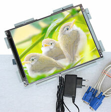 "MORE ECONOMICAL 30cm 12"" TFT MONITOR OPEN FRAME DISPLAY NEEDS ONLY 12V network."